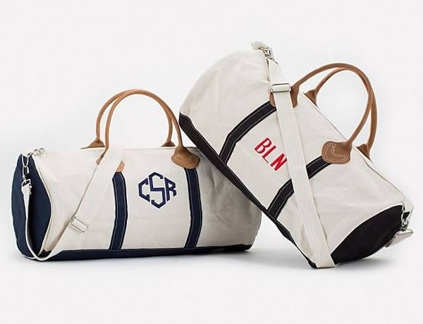 Canvas Round Duffle