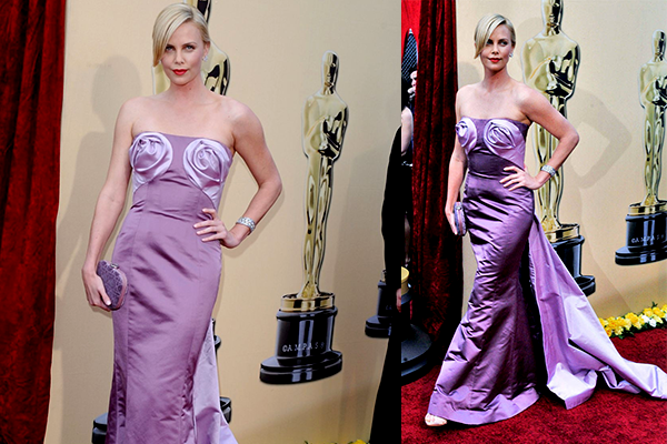 charlize theron in dior 2011