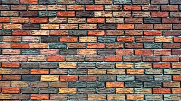 Colorful Brick Wall Backdrop