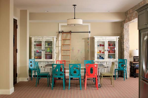 Colorful Kid's Beach Chairs