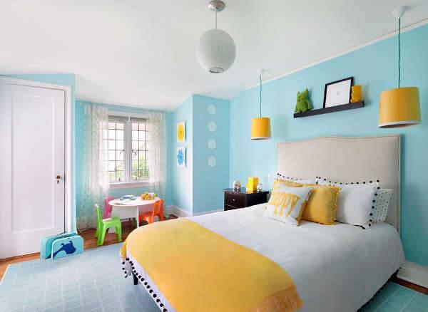 colorful kids bedroom furniture idea