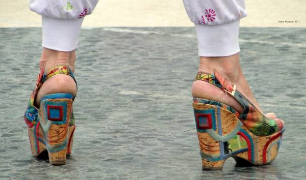 Colourful High-Heel Design