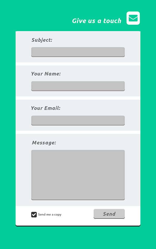 contact form designs