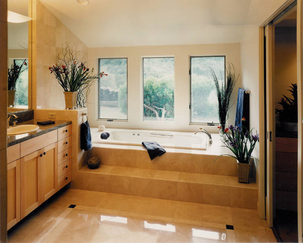 contemporary bathroom design for small space
