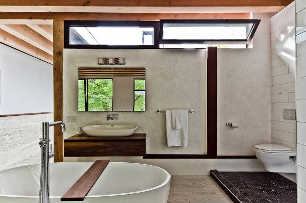 Contemporary Bathroom Window Design