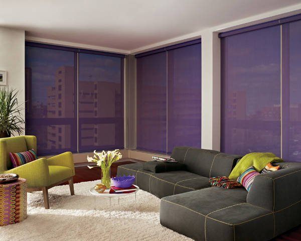 contemporary living room window treatment1
