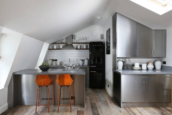 contemporary small kitchen design