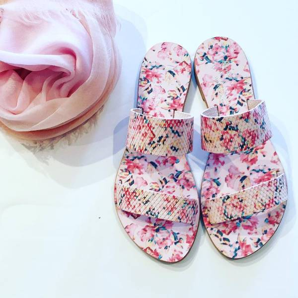 Cool Floral Footwear Idea