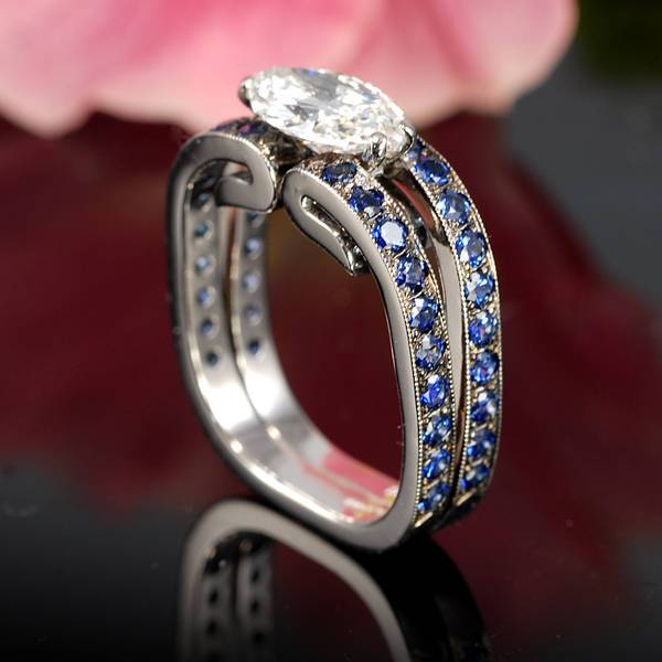 Cool Marquise Diamond Ring