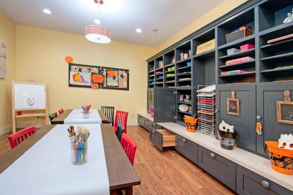 craft room storage designs