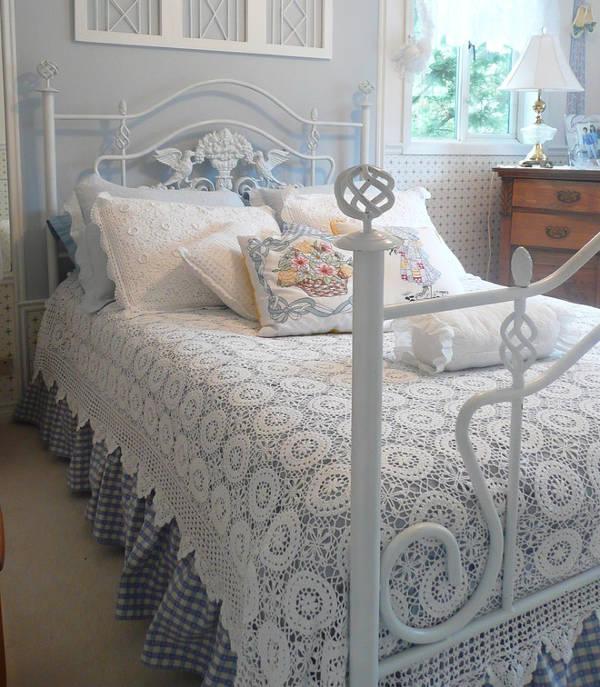crochet bed sheet designs