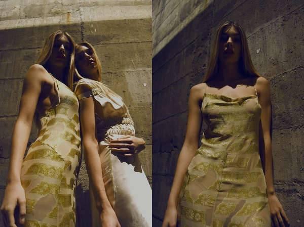 deluca slip dress