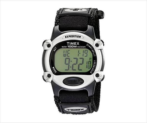 digital strap watch design for men