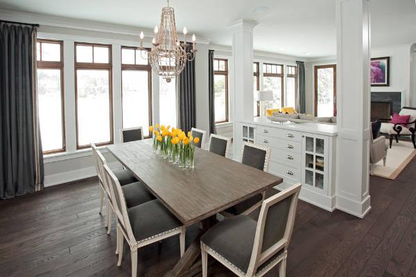 dining room storage designs