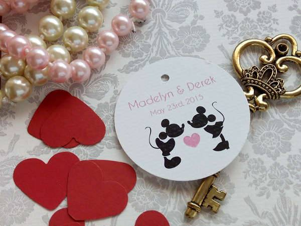 Disney Wedding Stickers