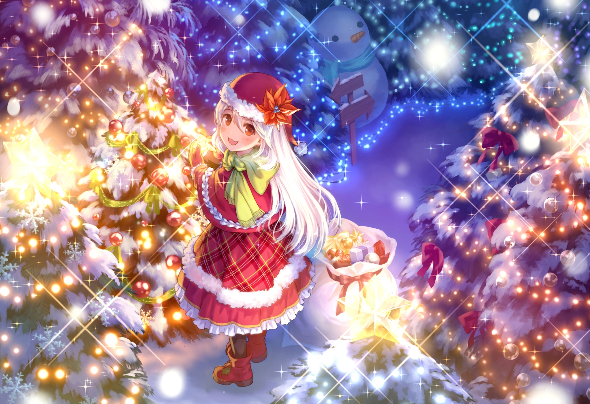 elegant animated christmas wallpaper hq