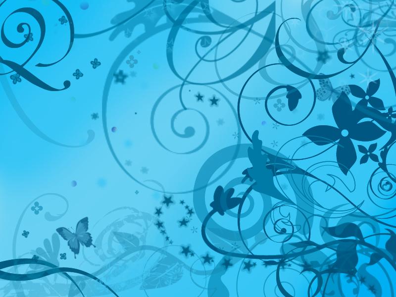 elegant blue swirl background hq