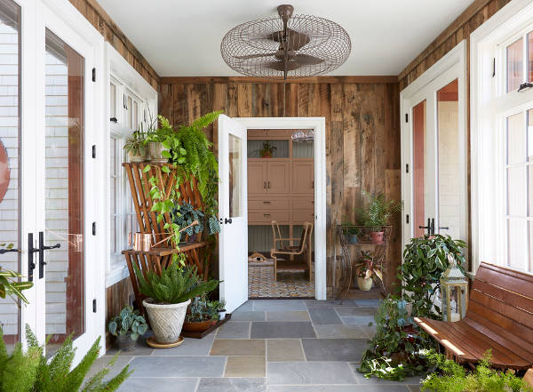 entryway fan ideas
