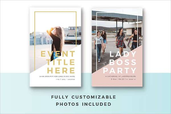 Event Party Poster Design Template