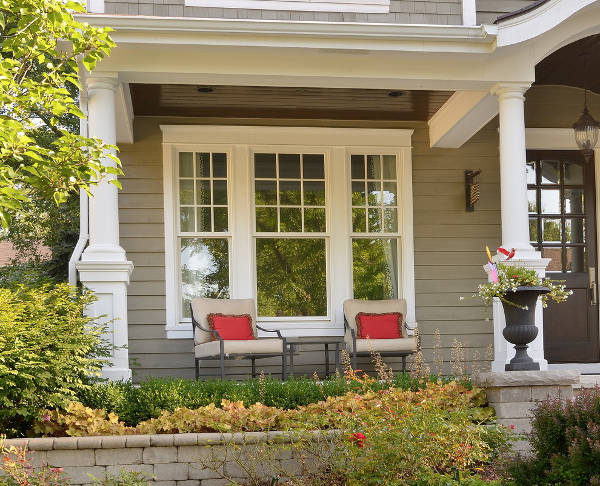 Exterior Porch Window Design