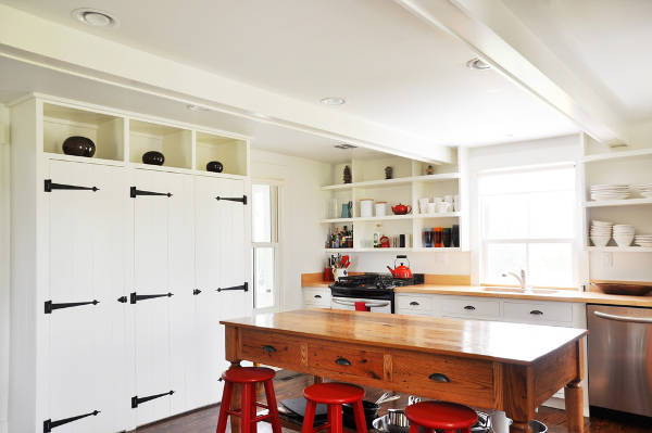 farmhouse kitchen cabinets
