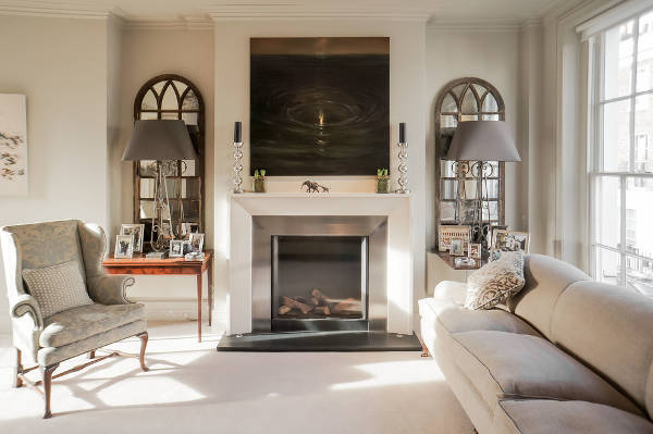 fireplace mirror ideas