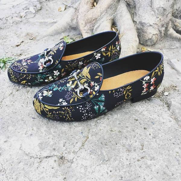 Floral Footwear for Men