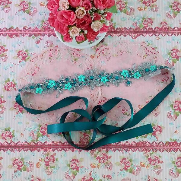 Floral Lace Belt for Women