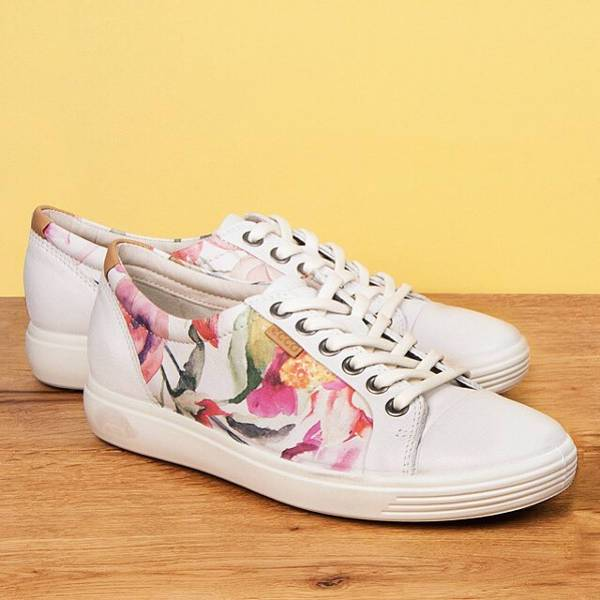Floral Print Shoes Design