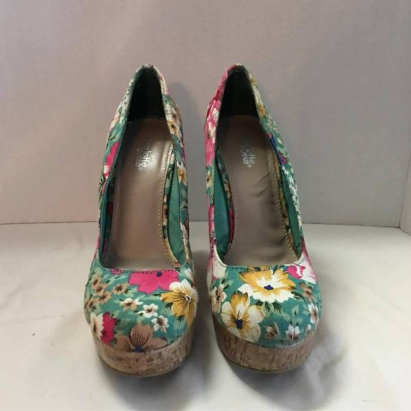 Floral Wedges for Women
