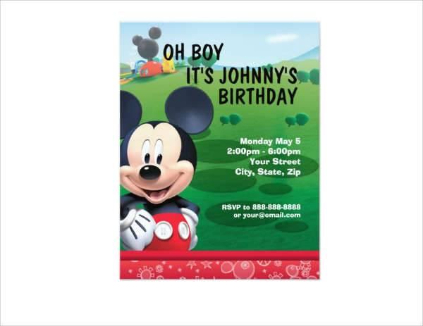 Formal Birthday Invitation
