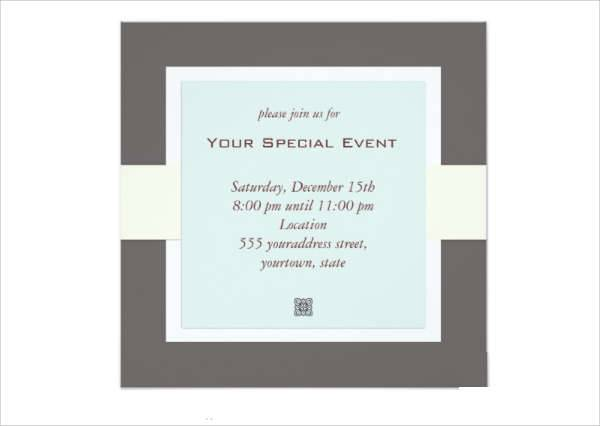 10+ Formal Invitation Templates - Printable Psd, Ai, Vector Eps