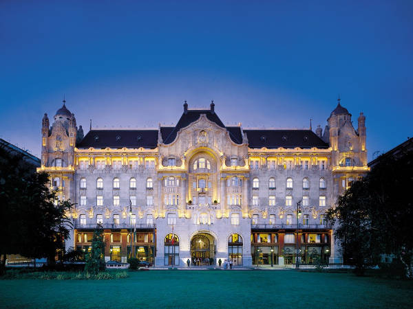 Four Seasons Hotel Gresham Palace, Budapest, Hungary