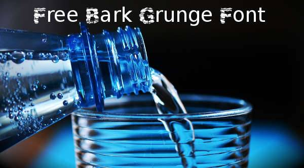 free grunge font