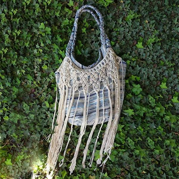 Fringe Hobo Shoulder Handbag