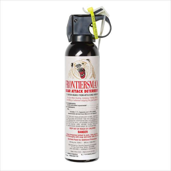 frontiersman bear spray — maximum strength