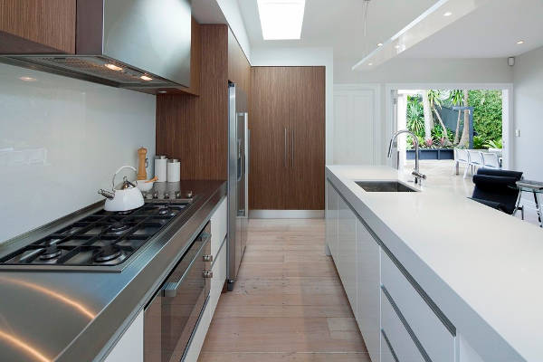 galley kitchen design idea