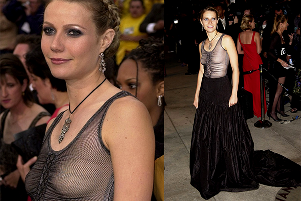 gwyneth paltrow in alexander mcqueen 2002
