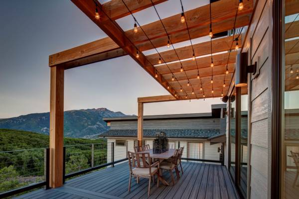hanging outdoor string ceiling lights