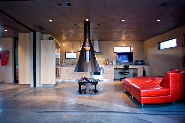 indoor fire pit designs