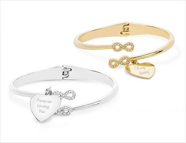 infinity hinge bracelet
