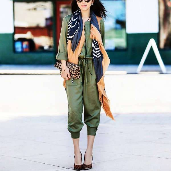 Jump Suit-Up in Green