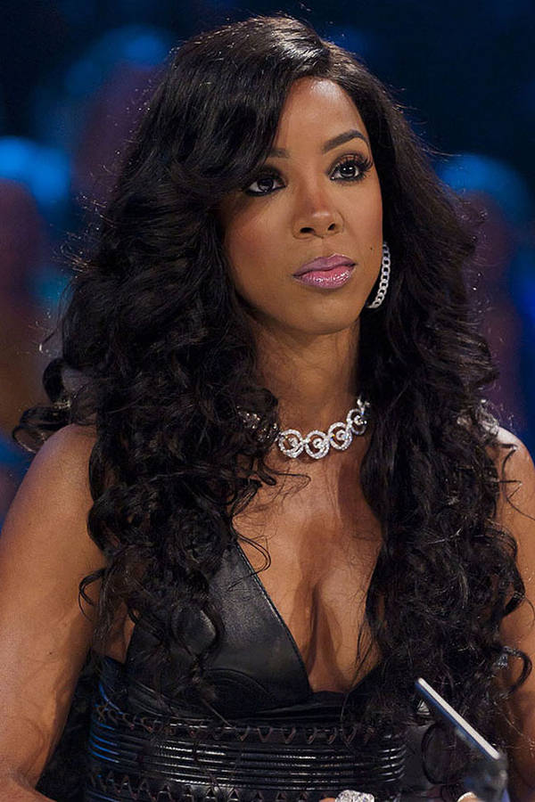 kelly rowland curly weave hairstyle