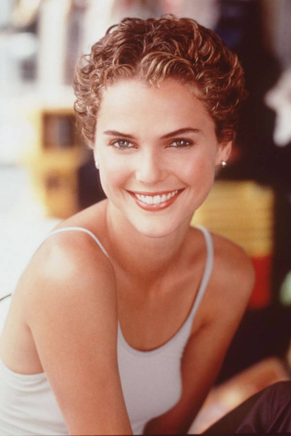 keri russell curly pixie hairstyle
