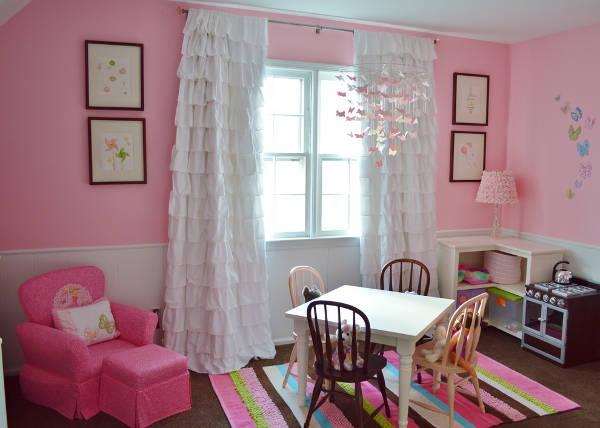 kids room curtain designs