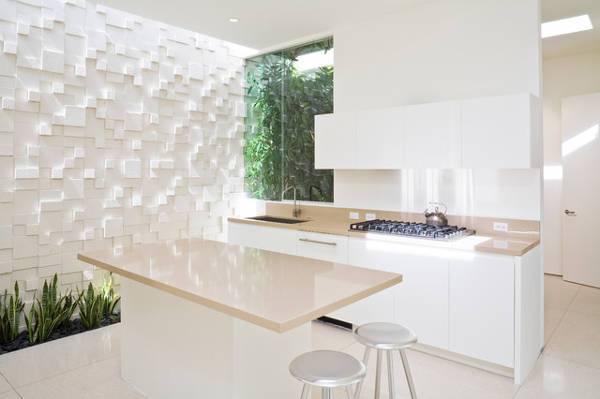 Kitchen 3D Wall Design