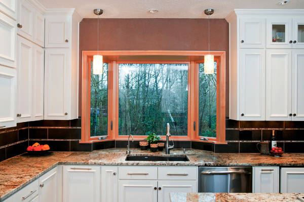 Kitchen Bay Window Design