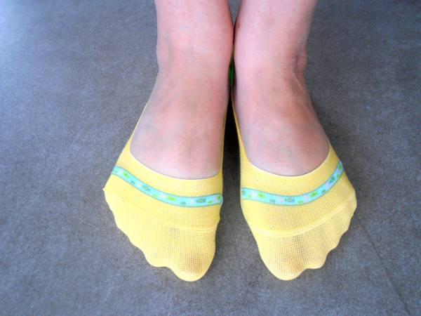 knitted toe socks for women