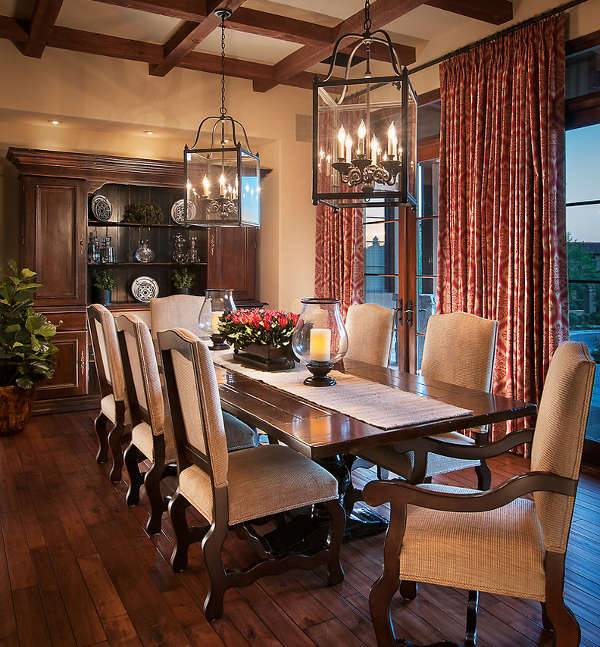 Large Dining Room Lantern Chandelier Design