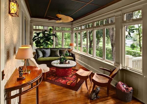 Large Sunroom Window Design